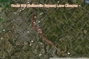 Route 309 (Sellersville Bypass) Lane Closures