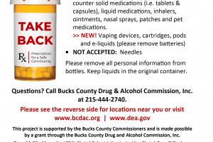 Medication Take Back and Disposal Program